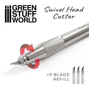 Green Stuff World   Green Stuff World Tools Metal Swivelhead HOBBY KNIFE - 8436574509601ES - 8436574509601