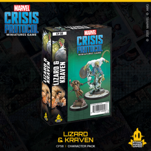 Atomic Mass Marvel Crisis Protocol  Marvel: Crisis Protocol Marvel Crisis Protocol: Lizard and Kraven - CP58 -