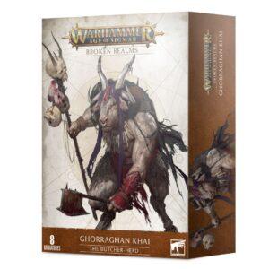 Games Workshop Age of Sigmar  Beasts of Chaos Broken Realms: The Butcher-herd - 99120216016 - 5011921145461