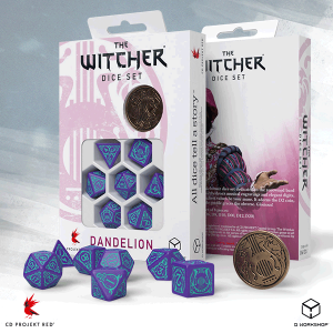 Q-Workshop   The Witcher Dice The Witcher Dice Set: Dandelion - Half a Century of Poetry - SWDA3S - SWDA3S