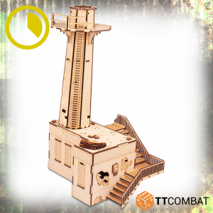 TTCombat   World War Scenics Warehouse Chimney Stack - TTSCW-WAR-057 -
