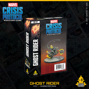 Atomic Mass Marvel Crisis Protocol  Marvel: Crisis Protocol Marvel Crisis Protocol: Ghost Rider - CP27 - 841333108861