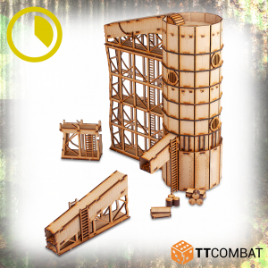 TTCombat   World War Scenics Coal Elevator - TTSCW-WAR-063 -