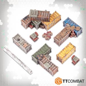 TTCombat Dropzone Commander  Dropzone Commander Essentials Dropzone Commander Shipping Containers - TTDZR-ACC-007 - 5060880911778