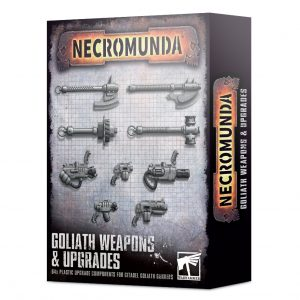 Games Workshop Necromunda  Necromunda Necromunda: Goliath Weapons & Upgrades - 99120599027 - 5011921139408