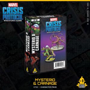 Atomic Mass Marvel Crisis Protocol  Marvel: Crisis Protocol Marvel Crisis Protocol: Carnage & Mysterio - CP50 -