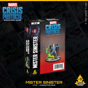 Atomic Mass Marvel Crisis Protocol  Marvel: Crisis Protocol Marvel Crisis Protocol: Mister Sinister - CP46 - 841333111229