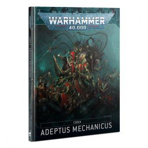 Games Workshop Warhammer 40,000  Adeptus Mechanicus Codex: Adeptus Mechanicus - 60030116007 - 9781839063237