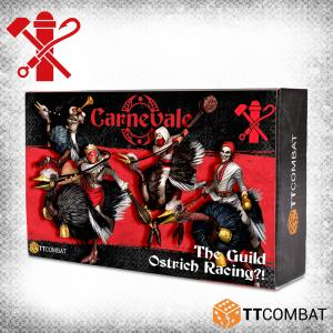 TTCombat Carnevale  Carnevale Carnevale: Ostrich Racing?! - TTCGX-GLD-007 -