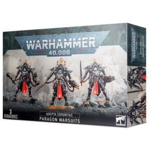Games Workshop Warhammer 40,000  Adepta Sororitas Adepta Sororitas Paragon Warsuits - 99120108046 - 5011921139255