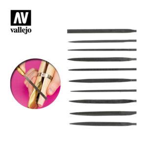 Vallejo   Vallejo Tools AV Vallejo Tools - Budget Needle File Set (10pc) - VALT03001 - 8429551930093