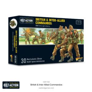 Warlord Games Bolt Action  Great Britain (BA) British & Inter-Allied Commandos - 402011022 -