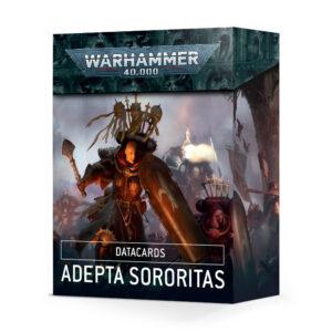 Games Workshop Warhammer 40,000  Adepta Sororitas Datacards: Adepta Sororitas - 60050108001 - 5011921134816