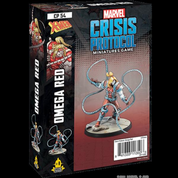Atomic Mass Marvel Crisis Protocol  Marvel: Crisis Protocol Marvel Crisis Protocol: Omega Red - CP54 -