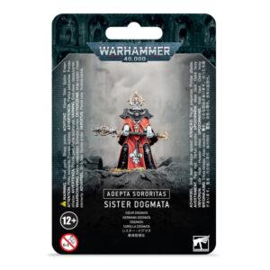 Games Workshop Warhammer 40,000  Adepta Sororitas Adepta Sororitas Sister Dogmata - 99070108008 - 5011921138920
