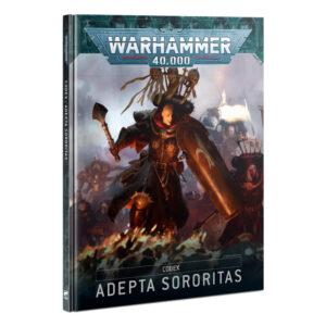 Games Workshop Warhammer 40,000  Adepta Sororitas Codex: Adepta Sororitas - 60030108015 - 9781839063398