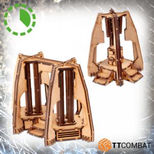 TTCombat   Sci Fi Gothic (28-32mm) Bolstered Generators - TTSCW-SFG-109 - 5060880912416