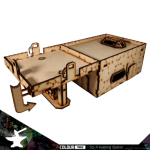 The Colour Forge   The Colour Forge Terrain Sci-Fi Fuelling Station - TCF-SCI-013 - 5060843101550