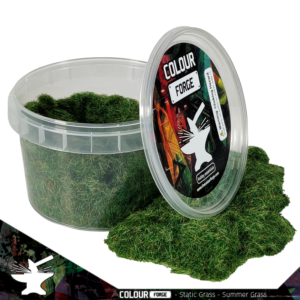 The Colour Forge   Sand & Flock Static Grass - Summer Grass (275ml) - TCF-BAS-024 - 5060843101819