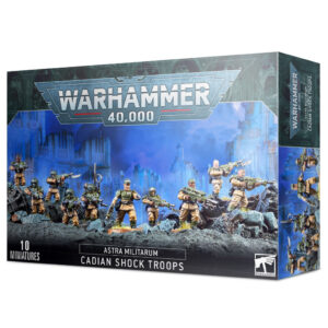 Games Workshop Warhammer 40,000  Astra Militarum Astra Militarum Cadian Shock Troops - 99120105089 - 5011921157938