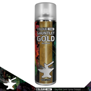 The Colour Forge   Spray Paint Colour Forge Gauntlet Gold Spray (500ml) - TCF-SPR-019 - 5060843101321