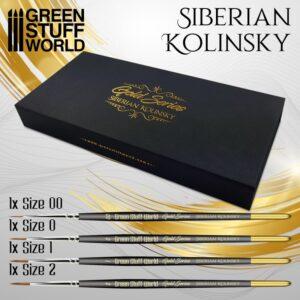 Green Stuff World   Green Stuff World Brushes Premium Brush Set - GOLD SERIES - 8436574509137ES -