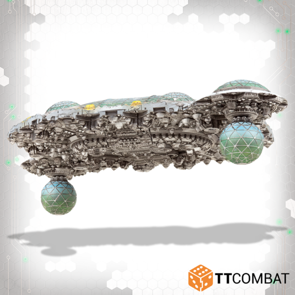 TTCombat Dropfleet Commander  Dropfleet Essentials Astrobotanical Lab Space Station - TTDFR-ACC-006 - 5060880912218