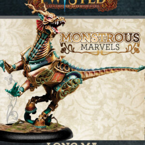 Demented Games Twisted: A Steampunk Skirmish Game  Guild of Harmony Long Ma, the Dragon Horse - RGR105 - RGR105