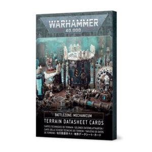 Games Workshop Warhammer 40,000  40k Terrain Battlezone: Mechanicum – Terrain Datasheet Cards - 60050199043 - 5011921143467