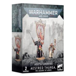 Games Workshop Warhammer 40,000  Adepta Sororitas Adepta Sororitas Aestred Thurga, Reliquant at Arms - 99120108050 - 5011921139293