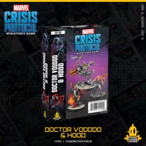 Atomic Mass Marvel Crisis Protocol  Marvel: Crisis Protocol Marvel Crisis Protocol: Doctor Voodoo & Hood - CP65 -