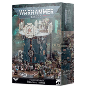 Games Workshop Warhammer 40,000  40k Terrain Battlezone: Mechanicus – Ferratonic Furnace - 99120199080 - 5011921144174