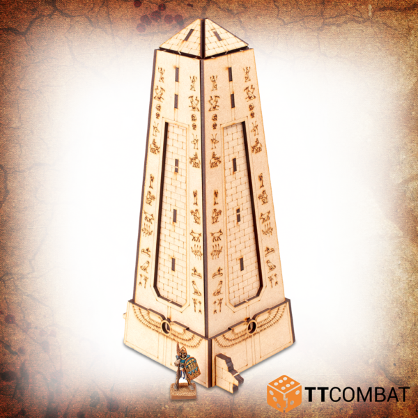 TTCombat   Fantasy Scenics (28-32mm) Grand Obelisk - TTSCW-FSC-055 - 5060880912775
