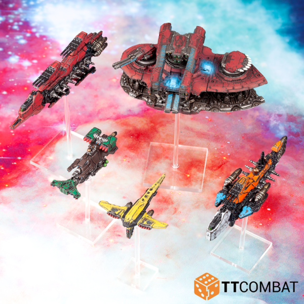 TTCombat Dropfleet Commander  Dropfleet Essentials Defence Grid Space Station - TTDFR-ACC-005 - 5060880912201