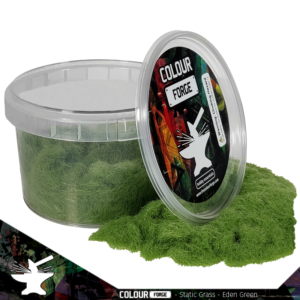 The Colour Forge   Sand & Flock Static Grass - Eden Green (275ml) - TCF-BAS-026 - 5060843101833