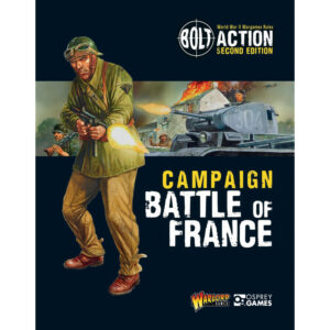 Warlord Games Bolt Action  Bolt Action Books & Accessories Bolt Action Campaign: Battle of France - 401010009 -