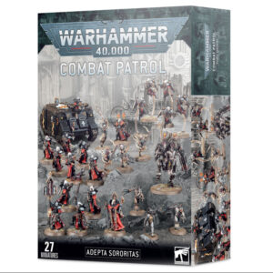 Games Workshop Warhammer 40,000  Adepta Sororitas Combat Patrol: Adepta Sororitas - 99120108044 - 5011921139231