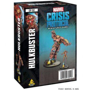 Atomic Mass Marvel Crisis Protocol  Marvel: Crisis Protocol Marvel Crisis Protocol: Hulkbuster - CP52 -