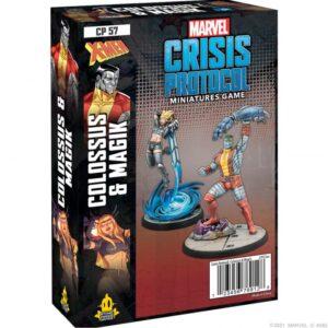 Atomic Mass Marvel Crisis Protocol  Marvel: Crisis Protocol Marvel Crisis Protocol: Colossus & Magik - CP57 -